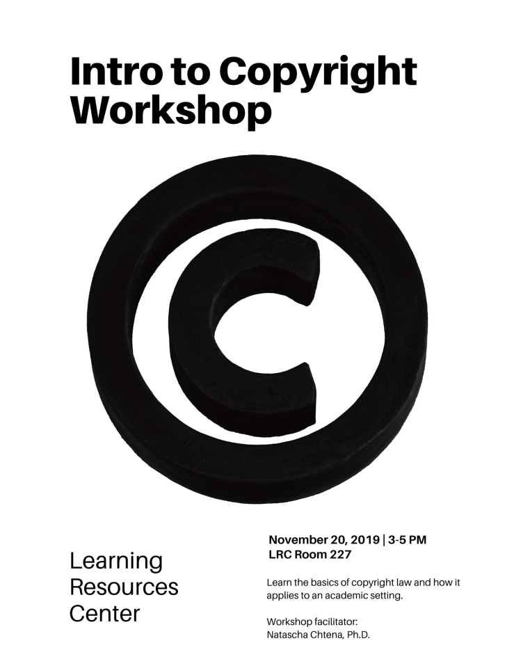 Copyright Workshop